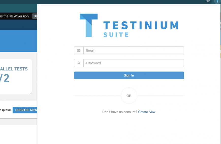 Testinium Suit